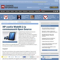 HP et l'open source