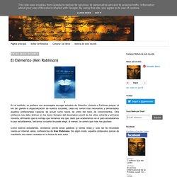 Confieso que he leído: El Elemento (Ken Robinson)