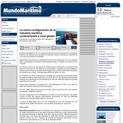 La nueva configuración de la industria marítima contenerizada a nivel global