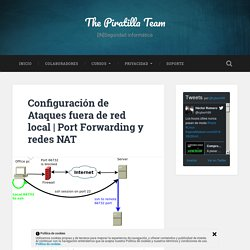 Port Forwarding y redes NAT - The Piratilla Team
