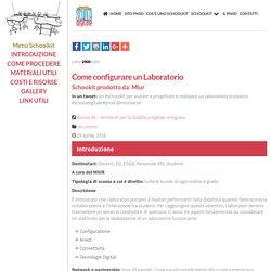 MIUR - Schoolkit: Come configurare un Laboratorio