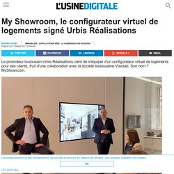 My Showroom, le configurateur virtuel de logements signé Urbis Réalisations
