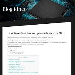 Configuration de Bind9 sur VPS d'OVH