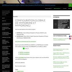 Configuration globale de MyPiDrone et MyPiDrone2 - [MyPiDrone Project] Kev&Phil : QUAD Copter Raspberry PI2/PI3 & Navio+/NAVIO2 controler