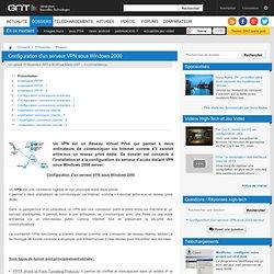 Image Article n° 56 - Configuration du serveur d?accès distant VPN - 01 - configuration VPN