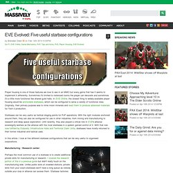 EVE Evolved: Five useful starbase configurations - Massively