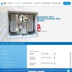 SCB Configurator of Customised Solution - Trinity Touch