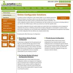 Online Configurators - Ecreativeworks