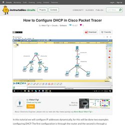 How to Configure DHCP in Cisco Packet Tracer : 14 Steps - Instructables