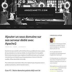 Configurer un sous domaine avec #Apache sur votre serveur dédié #ubuntu