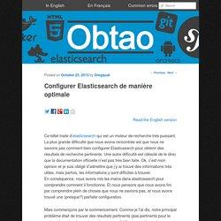 Configurer Elasticsearch de manière optimale