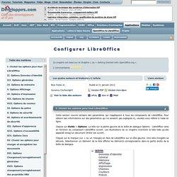 Configurer LibreOffice