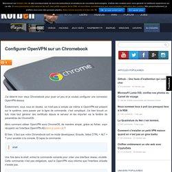 Configurer OpenVPN sur un Chromebook