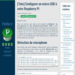 [Tuto] Configurer un micro USB à votre Raspberry Pi · Pofilo.fr