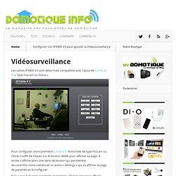 Configurer son IPX800 V3 pour ajouter la Vidéosurveillance
