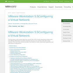 Configuring a Virtual Network