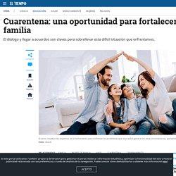 Cómo manejar el confinamiento en familia durante la cuarentena - Educación