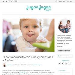 El confinamiento con niñas y niños de 1 a 3 años - Jugar i Jugar