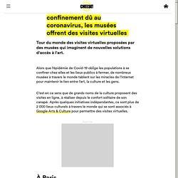 MUSEES visites virtuelles