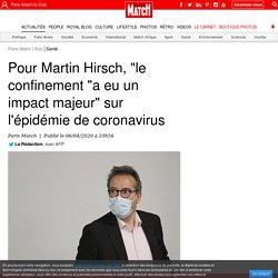 """Pour Martin Hirsch, """"le confinement """"a eu un impact majeur"""" sur l'épidémie de coronavirus"""