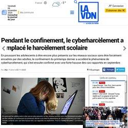 Pendant le confinement, le cyberharcèlement a remplacé le harcèlement scolaire...