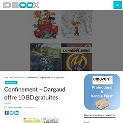 Dargaud offre 10 BD gratuites
