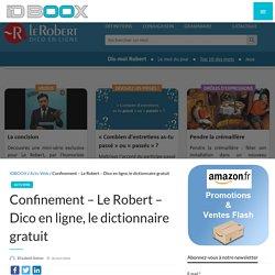 Le Robert - Dico en ligne, le dictionnaire gratuit
