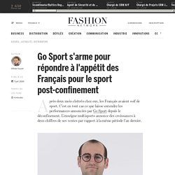 Go Sport s'arme pour répondre à l'appétit des Français pour le sport post-confinement - Actualité : distribution (#1227354)