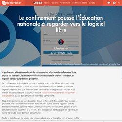 Le confinement pousse l'Éducation nationale à regarder vers le logiciel libre