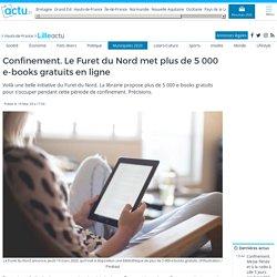 Confinement. Le Furet du Nord met plus de 5 000 e-books gratuits en ligne