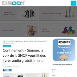 Simone, la voix de la SNCF vous lit des livres audio gratuitement