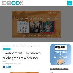 Des livres audio gratuits à écouter