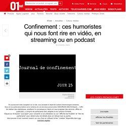 Confinement : ces humoristes qui nous font rire en vidéo, en streaming ou en podcast