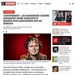 Confinement : les humoristes contre-attaquent entre podcasts et rendez-vous quotidiens sur les réseaux