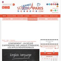 Confinement : j'ai décidé d'apprendre une langue étrangère, les applis indispensables