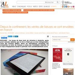 Depuis le confinement, les ventes de liseuses se sont envolées en France