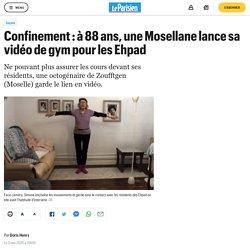 Confinement : à 88 ans, une Mosellane lance sa vidéo de gym pour les Ehpad
