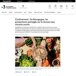 FRANCE 3 06/11/20 Confinement : En Bourgogne, les producteurs partagés sur le recours aux circuits courts