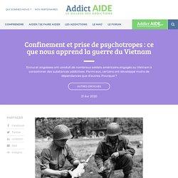 Confinement et prise de psychotropes: ce que nous apprend la guerre du Vietnam