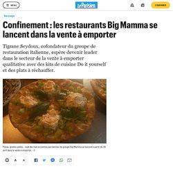 Confinement : les restaurants Big Mamma se lancent dans la vente à emporter