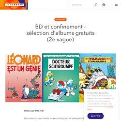 BD et confinement - sélection d'albums gratuits (2e vague) — Éditions Le Lombard