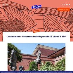 Confinement : 5 superbes musées parisiens à visiter à 360°