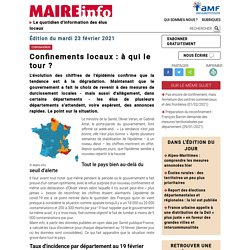 Maire-Info, quotidien d'information destiné aux élus locaux