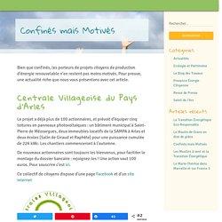 Provence energie citoyenne - actualités - tous les projets