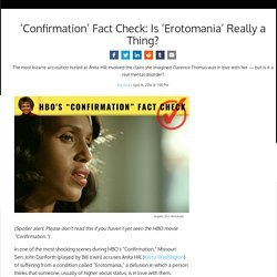 'Confirmation' Fact Check: Is 'Erotomania' Really a Thing?