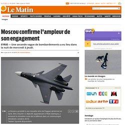 Russes à Tartous bombardent les forces terroristes