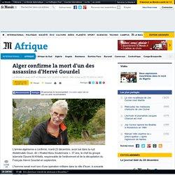 Alger confirme la mort d'un des assassins d'Hervé Gourdel