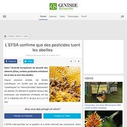 L'EFSA confirme que des pesticides tuent les abeilles