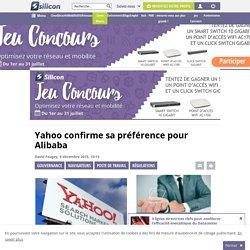 Yahoo confirme sa préférence pour Alibaba