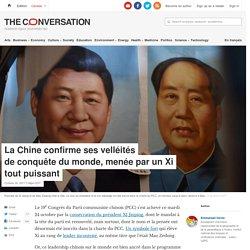La Chine confirme ses velléités deconquête dumonde, menée parunXi toutpuissant
